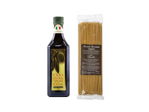 オリーブオイル・古代小麦パスタ
