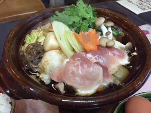 信楽澤善の鶏すき近江黒鶏1羽分(特製鶏ガラだれ付)