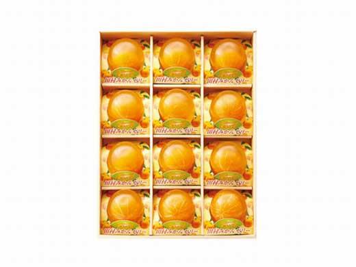 高級『田村みかん』を丸ごと使用!フルーツ丸ごとゼリーセット12個入