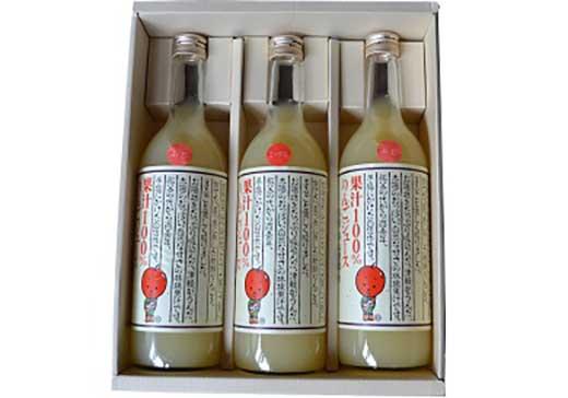 平山農園りんごジュースセット