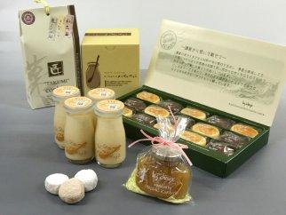 フランス風創作菓子レ・シュー「ふるさと納税特産品・かまくら推奨品セット」