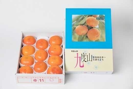 【2020年11月~発送】日本一の九度山の富有柿4L11玉