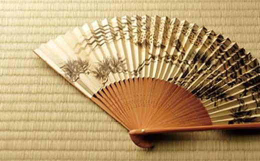 ◆【数量限定】近江扇子 №25049 富士・鷹