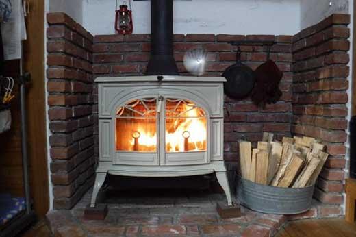 (50cm)薪ストーブに最適!しっかり暖かい「カシ・クヌギ」乾燥薪 24kg×3セット
