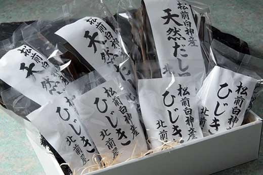 白神産昆布&ひじきセット<北前屋>