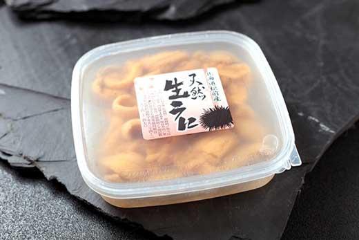 塩水ウニ2パックセット<上野屋>
