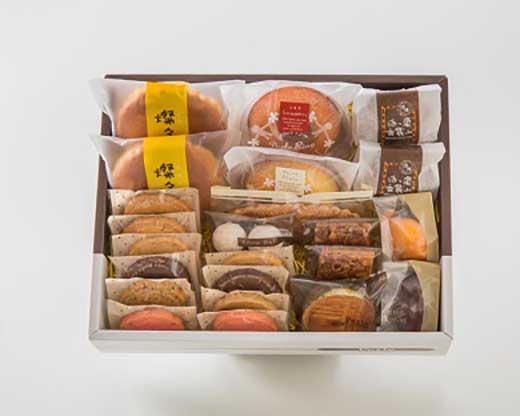沼津の寿太郎みかんを使用したマドレーヌ入り焼菓子詰め合わせ