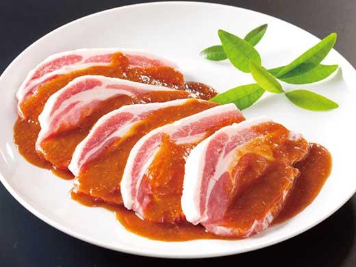 ◆茨城県産豚肉のロースみそ漬け
