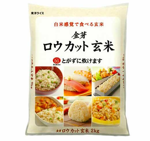 国内産100%金芽ロウカット玄米(無洗米)6kg