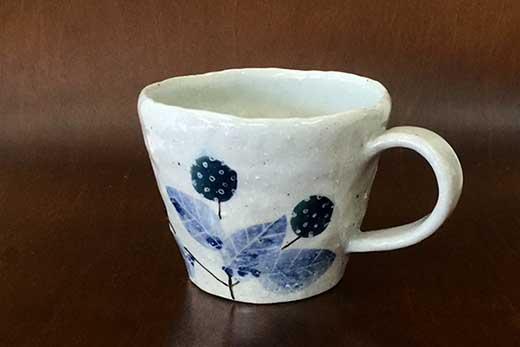 野いちごマグカップ