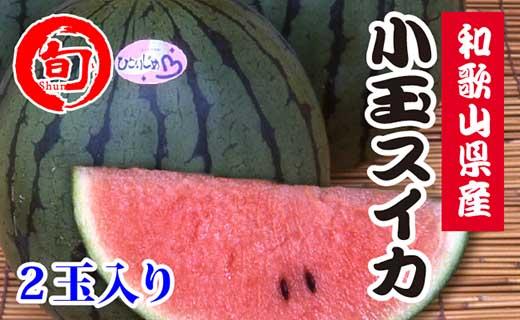 品名≪和歌山県産≫小玉スイカ(2玉)旬の味覚市場