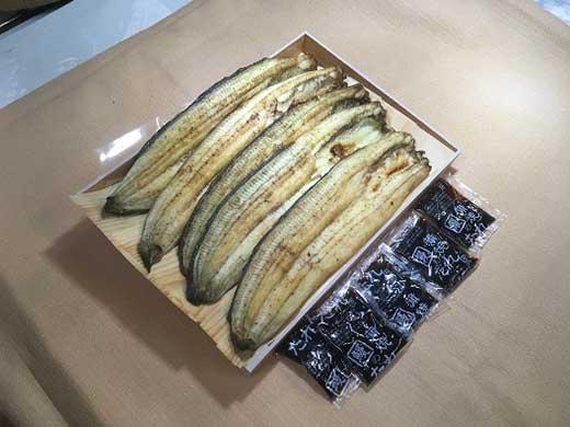 うなぎ白焼き(割き立て・焼き立て)5尾