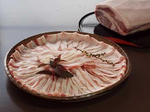 北アルプス山麓ブランド【大町黒豚】ロース・バラ肉セット