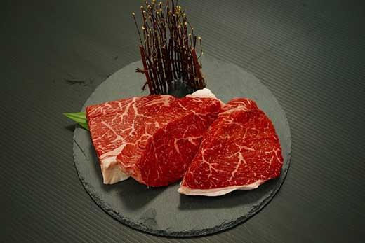 熊野牛 ステーキ用赤身3枚(共)