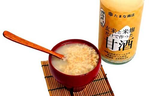 麹甘酒たまなの玄米甘酒玄米500ml×12本