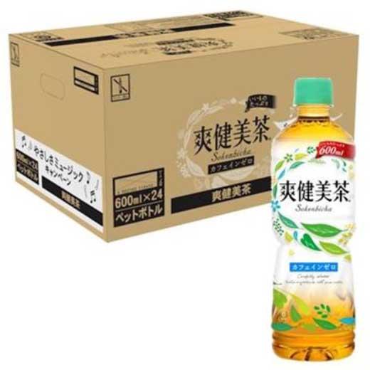 L006 爽健美茶600mlPET
