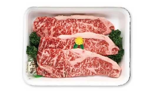 【毎月10セット限定】箱根西麓牛ロースステーキ約200gX3枚