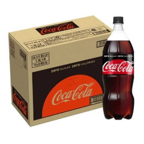 L024 コカ・コーラゼロシュガー1.5LPET