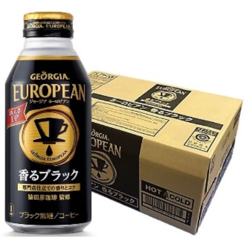 L032 ヨーロピアン香るブラック400ml缶