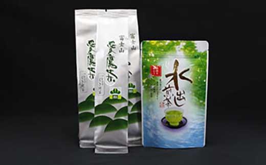 愛鷹茶 ブレンドくき煎茶松 600g・水出し煎茶TB 100g