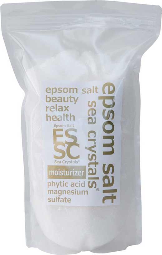 話題の入浴剤エプソムソルトシークリスタルスモイスチャーライザー 2.2kg