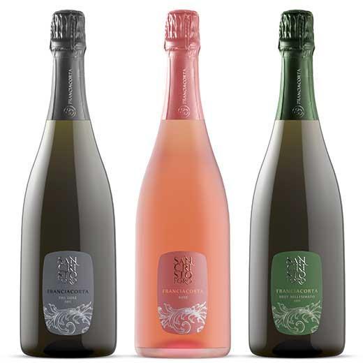 イタリア最高級スパークリングワイン「フランチャコルタ」セット