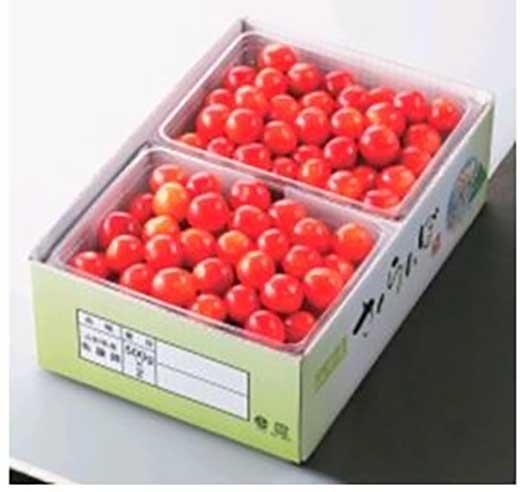 A041さくらんぼ【佐藤錦】バラ詰1kg