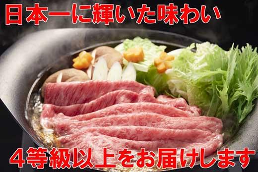 長崎和牛出島ばらいろモモスライス400g