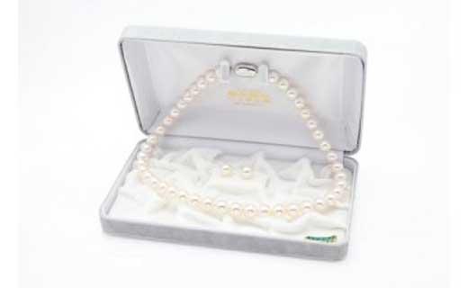 あこや花珠真珠ネックレス・ピアスセット