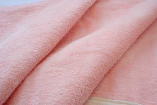 シール織綿毛布(無地)(ピンク)ダブル三和シール工業株式会社