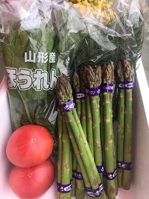 AP44山形の春野菜詰め合わせセット