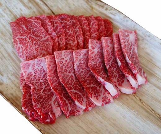 ◆近江牛モモ・バラ焼肉