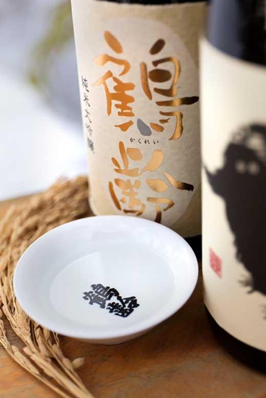 雪国のお酒「鶴齢」「雪男」四合瓶お酒セット