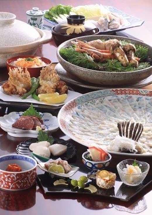 下関ならではの食材を最高の状態で味わって頂けるお料理