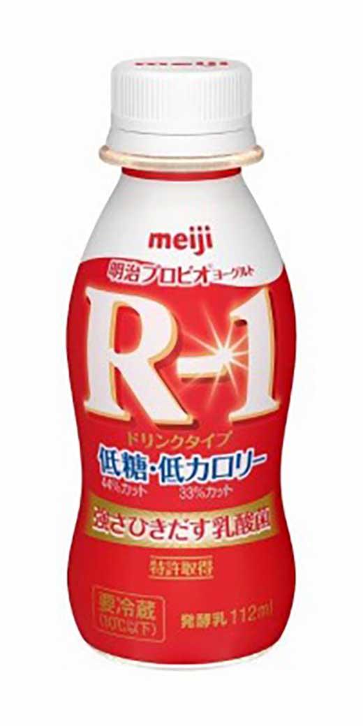 明治プロビオヨーグルトR-1〈ドリンクタイプ〉低糖・低カロリー112mlPET×2ケース