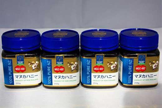 MGOマヌカハニー蜂蜜400+セット(250g×4個セット)