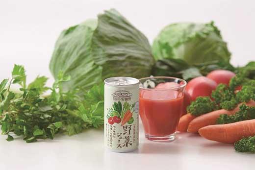 信州安曇野野菜ジュース無塩190gx30