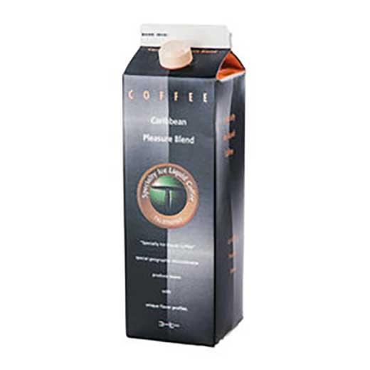 スペシャルティーアイスコーヒー カリビアンプレジャーブレンド1,000ml[無糖]×6本
