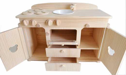 木製おままごとキッチン(大)