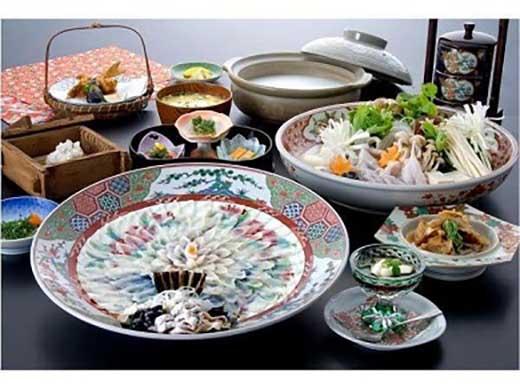 【宿泊券付】最上級天然ふくフルコース2名様(10月から3月)