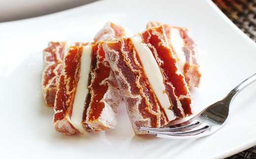 幻のカルピス発酵バターを使った市田柿ミルフィーユ100g×3本セット