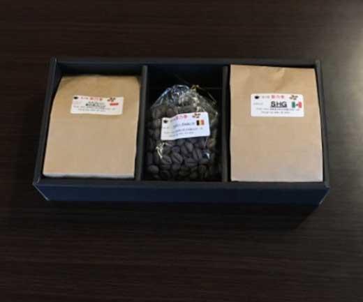 【挽】深入り珈琲2袋とチョコセット ~珈琲にうるさい人が集まる店より~