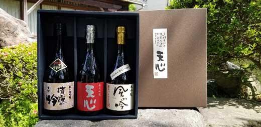 MZ03-21 溝上酒造 日本酒セット②(720ml×3本)