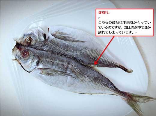 九州産干物の訳あり大満足BOX!鯛入り!!