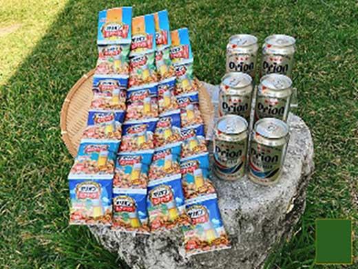 オリオン生ビール6缶&オリオンビアナッツ