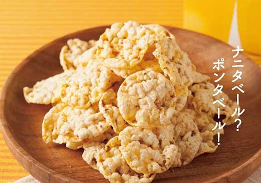 ほんだ菓子司 北海道とうきびポンスナック ポンタベール(だし/しお/甘エビ味)