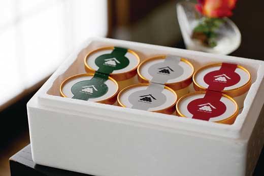 【自宅用】干柿アイスや大吟醸のシャーベットなど、贅沢な大人のアイス 3種の味が楽しめるバラエティセット 6個入り