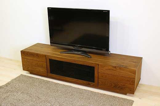 凛テレビボードW1800タイプ2ウォールナット