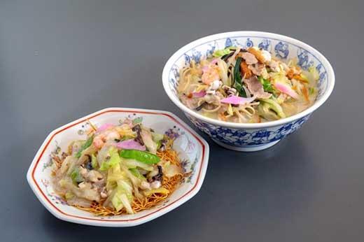 ひふみ 《具材付》長崎冷凍ちゃんぽん(5食)・皿うどん(5食)