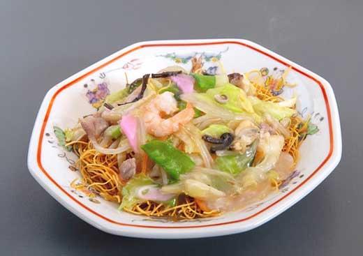 ひふみ 《具材付》長崎冷凍皿うどん(10食)